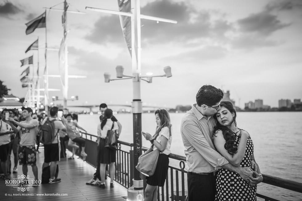 Indian Pre-Wedding in Bangkok at Asiatique