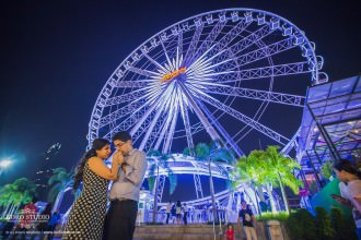Indian Pre-Wedding in Bangkok at Asiatique
