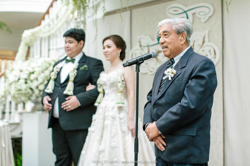 Mandarin oriental bangkok Wedding Reception Yar and Aon