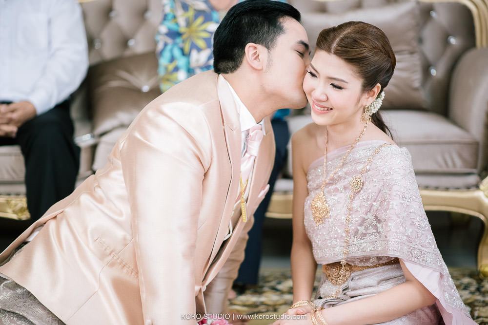 korostudio thai wedding ceremony tuey 104 Wedding at Home Thai Wedding Ceremony Supawee and Pangpichet | งานแต่งงานพิธีไทยคุณเตย และคุณวี