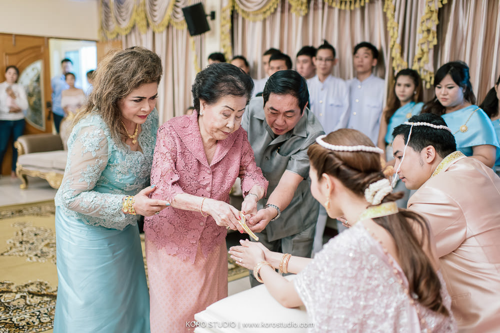 korostudio thai wedding ceremony tuey 111 Wedding at Home Thai Wedding Ceremony Supawee and Pangpichet | งานแต่งงานพิธีไทยคุณเตย และคุณวี