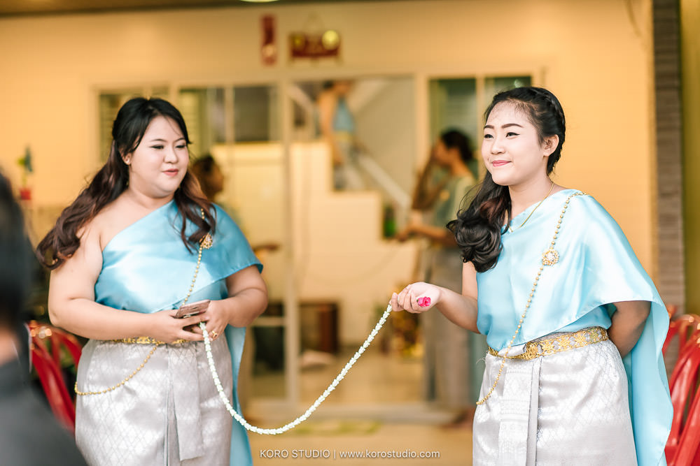 korostudio thai wedding ceremony tuey 18 Wedding at Home Thai Wedding Ceremony Supawee and Pangpichet | งานแต่งงานพิธีไทยคุณเตย และคุณวี