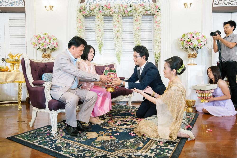 Praya Palazzo Wedding Ceremony Wayoon and Sarawut   งานแต่งงานพิธีไทย พระยาพาลาสโซ่