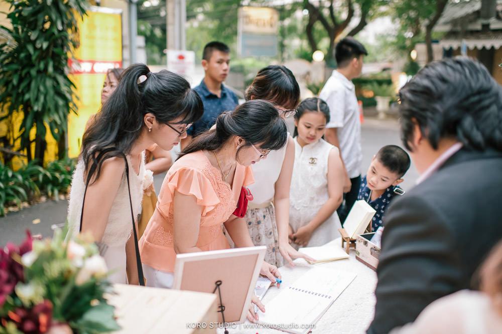 korostudio organize planner primmrose wedding planner 53 1 Bussaracum Royal Thai Cuisine Wedding Ceremony and Dinner Big and Robin   งานแต่งงาน พิธีแลกแหวน และงานฉลองมงคลสมรส ร้านอาหารไทยบุษราคัม คุณบิ๊ก และโรบิน