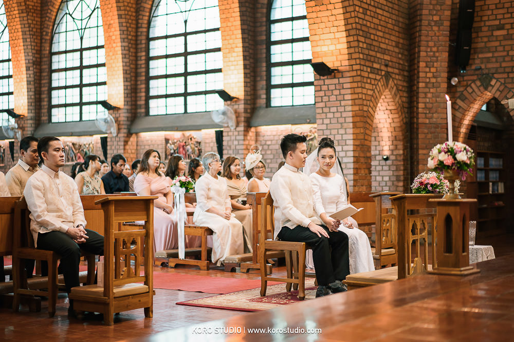 korostudio saritchaiwangsa wedding saint louis church sathorn bangkok 108 St. Louis Catholic Church Wedding in Church Bangkok,  Henshel and James Wedding Day from Philippines