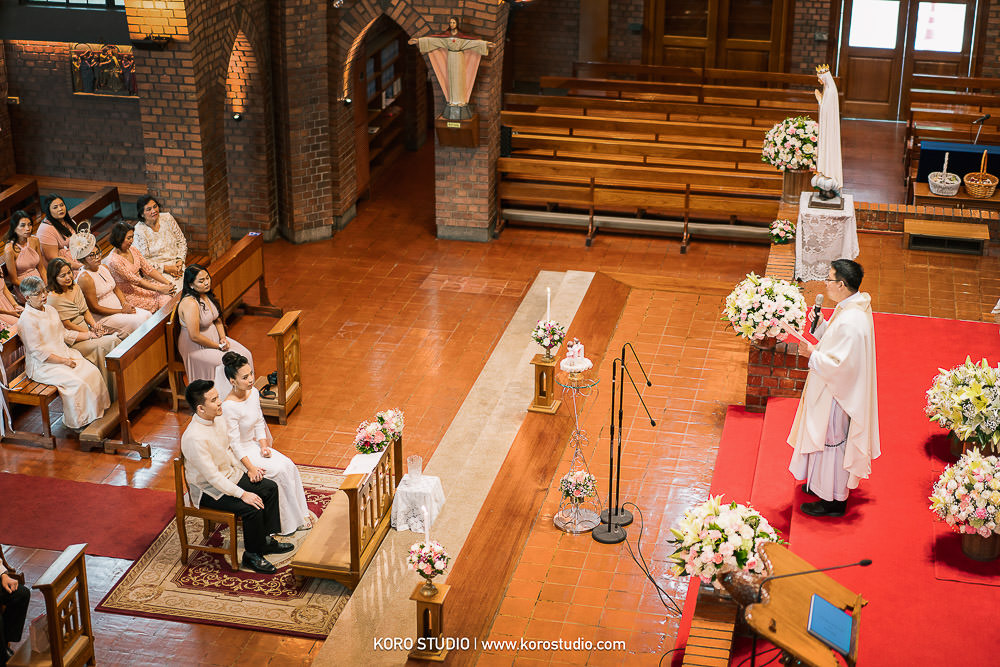 korostudio saritchaiwangsa wedding saint louis church sathorn bangkok 113 Wedding in The Most Beautiful Church in Bangkok, St. Louis Catholic Church Henshel and James Wedding Day from Philippines