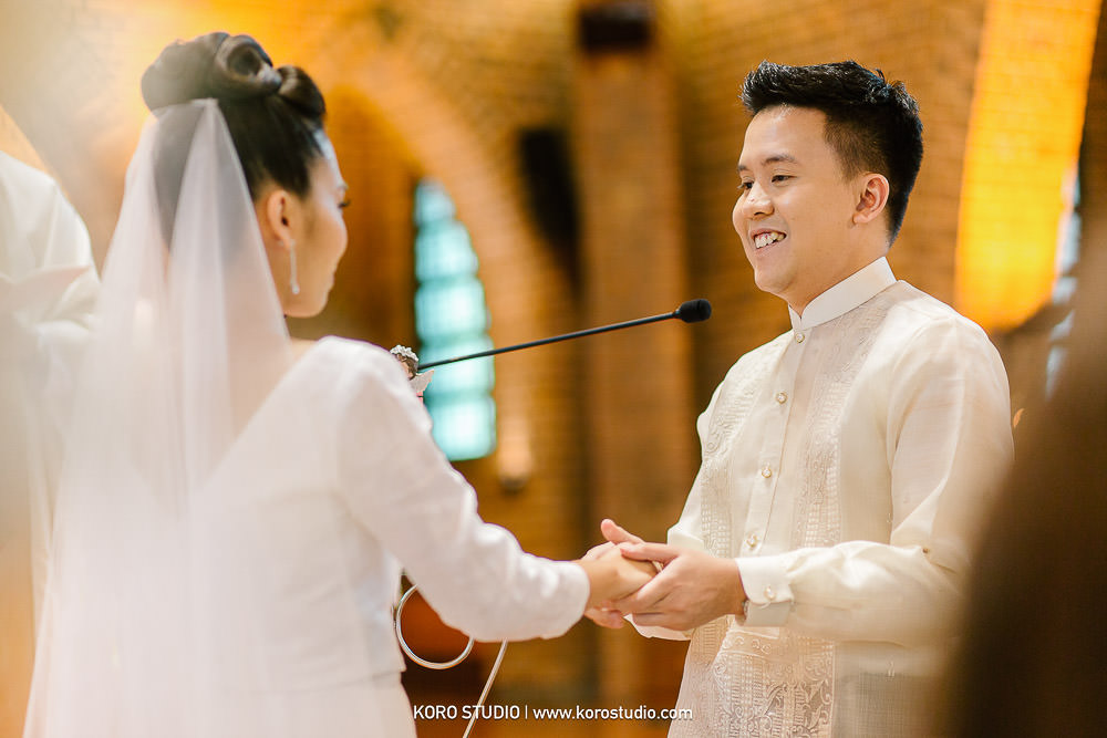 korostudio saritchaiwangsa wedding saint louis church sathorn bangkok 125 Wedding in The Most Beautiful Church in Bangkok, St. Louis Catholic Church Henshel and James Wedding Day from Philippines