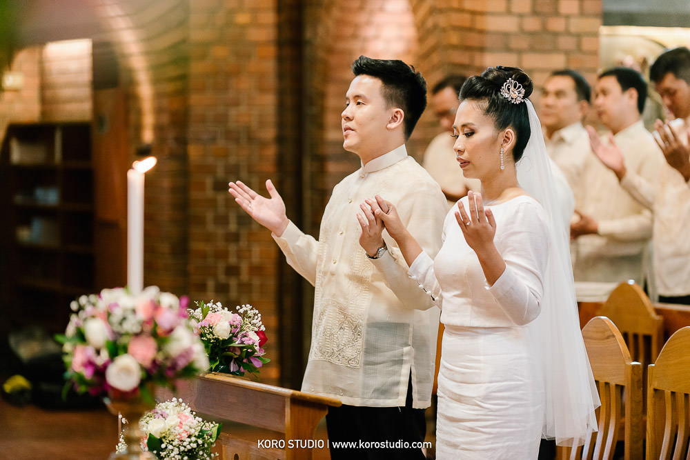 korostudio saritchaiwangsa wedding saint louis church sathorn bangkok 137 St. Louis Catholic Church Wedding in Church Bangkok,  Henshel and James Wedding Day from Philippines
