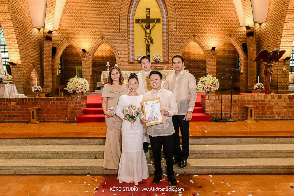 korostudio saritchaiwangsa wedding saint louis church sathorn bangkok 156 St. Louis Catholic Church Wedding in Church Bangkok, Henshel and James Wedding Day from Philippines