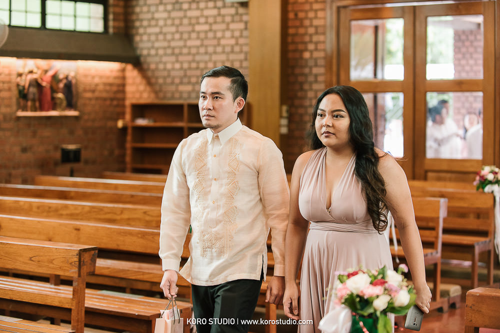 korostudio saritchaiwangsa wedding saint louis church sathorn bangkok 83 St. Louis Catholic Church Wedding in Church Bangkok,  Henshel and James Wedding Day from Philippines