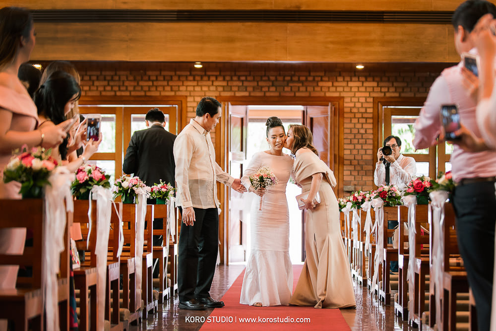 korostudio saritchaiwangsa wedding saint louis church sathorn bangkok 90 St. Louis Catholic Church Wedding in Church Bangkok,  Henshel and James Wedding Day from Philippines