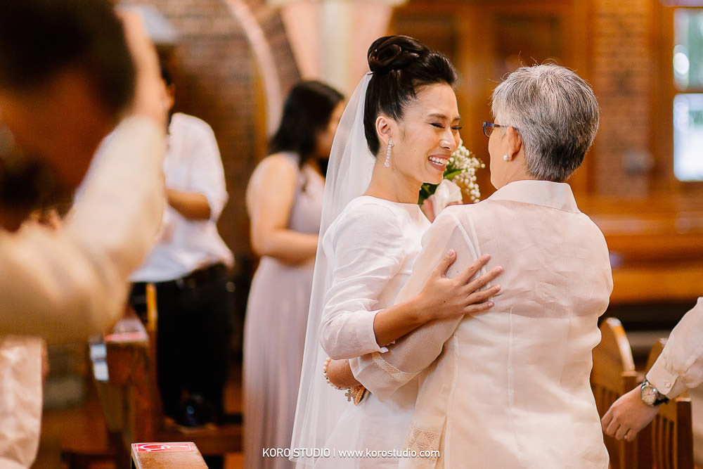 korostudio saritchaiwangsa wedding saint louis church sathorn bangkok 95 St. Louis Catholic Church Wedding in Church Bangkok,  Henshel and James Wedding Day from Philippines