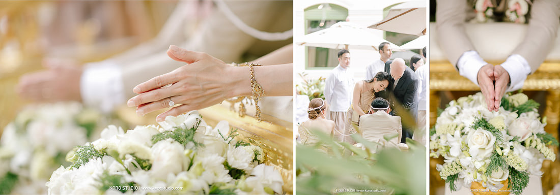 korostudio wedding ceremony the house on sathorn tan 117 The House on Sathorn Thai Wedding Ceremony Tan and Christ from London