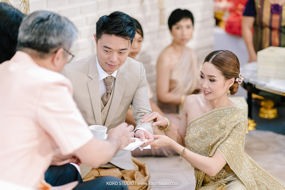 korostudio wedding ceremony the house on sathorn tan 94 The House on Sathorn Thai Wedding Ceremony Tan and Christ from London