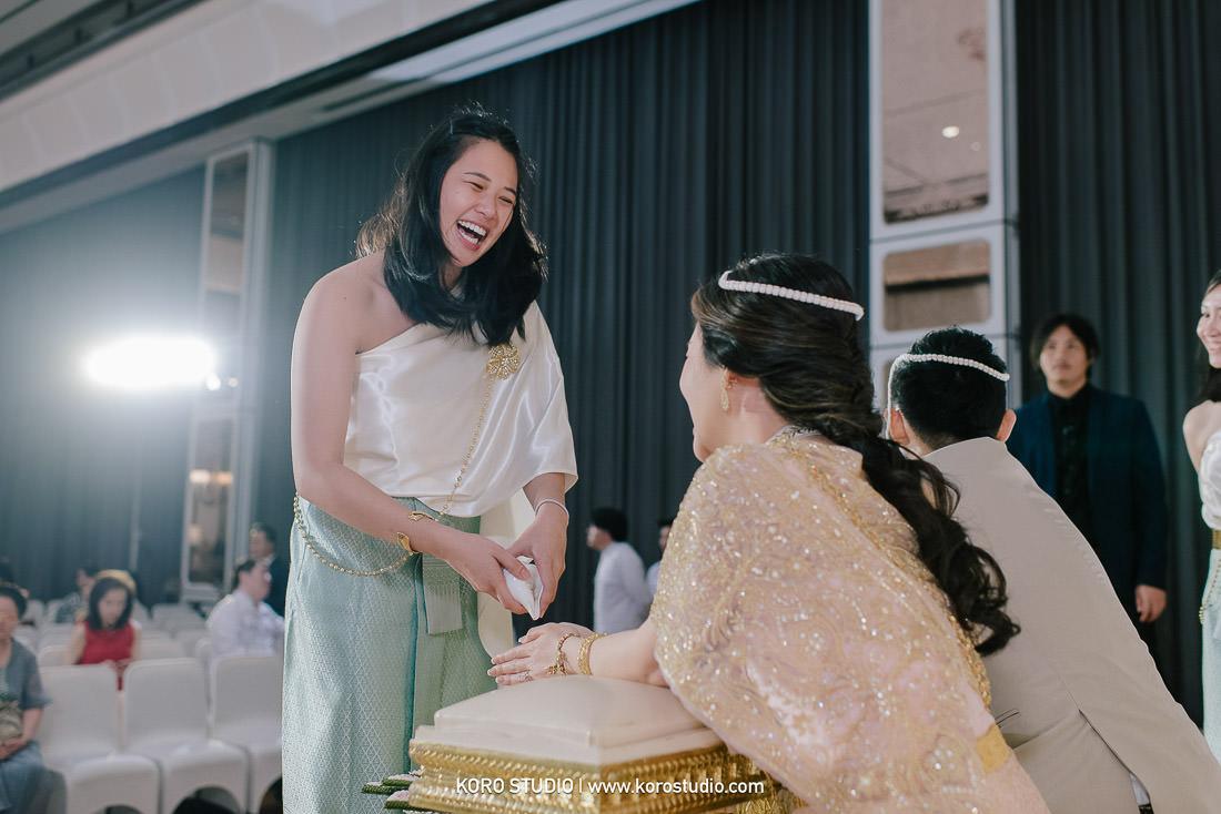 korostudio thai wedding ceremony plaza athenee hotel bangkok photographer 135 The Athenee Hotel Piman Siam Hall,  Thai Wedding Ceremony Bao and Suk from Singapore