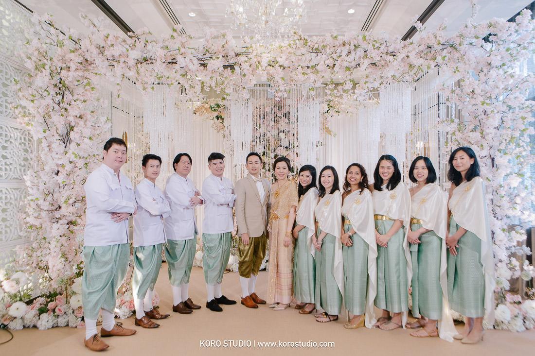 korostudio thai wedding ceremony plaza athenee hotel bangkok photographer 148 The Athenee Hotel Piman Siam Hall, Thai Wedding Ceremony Bao and Suk
