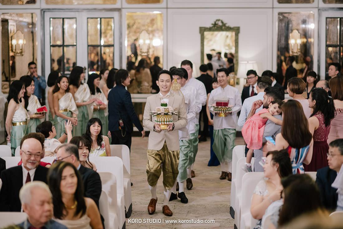 korostudio thai wedding ceremony plaza athenee hotel bangkok photographer 77 The Athenee Hotel Piman Siam Hall, Thai Wedding Ceremony Bao and Suk