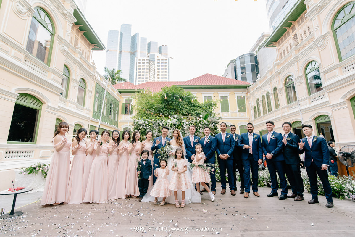 korostudio house on sathorn western wedding ceremony tan 154 House on Sathorn Western Wedding Ceremony in Bangkok Tan and Christ from England