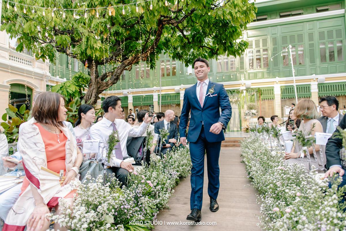 korostudio house on sathorn western wedding ceremony tan 59 Western Wedding Ceremony in Bangkok at House on Sathorn Tan and Christ from England