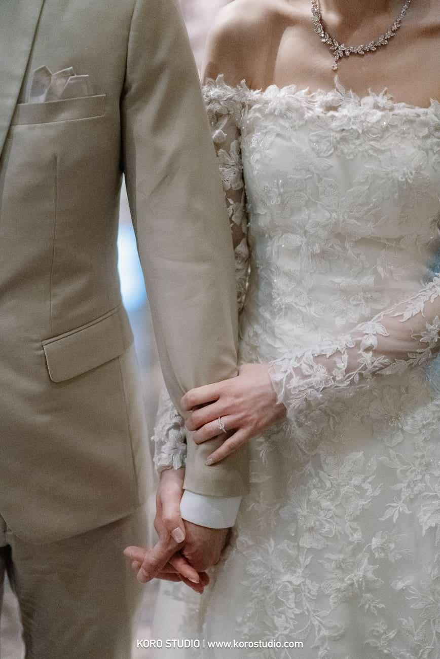 Okura Prestige Bangkok, Thai - Chinese Wedding Ceremony Chayapa and Wittawat - ช่างภาพงานแต่ง ภาพงานแต่งงาน พิธีงานแต่งงานเช้าแบบไทย-จีน คุณข้าวโพด และคุณวิท โรงแรมดิโอกุระ เพรสทีจ กรุงเทพ