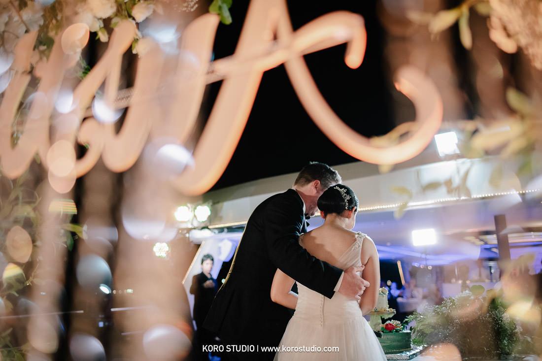 Cruise Wedding in Bangkok Thailand on Chao Phraya River for Christina and Austin