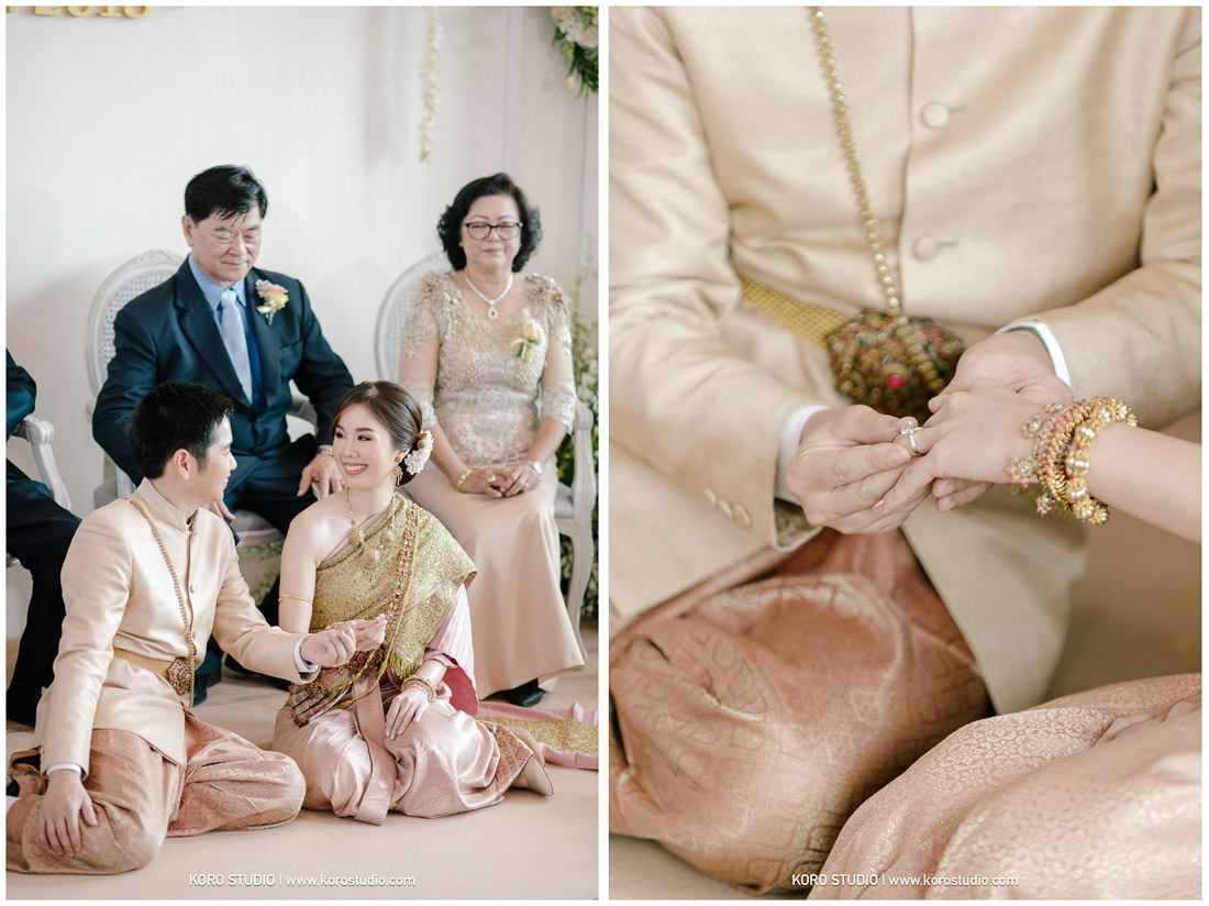 Wedding at Home Meaw & Ball Thai Wedding Ceremony Photo by Koro Studio