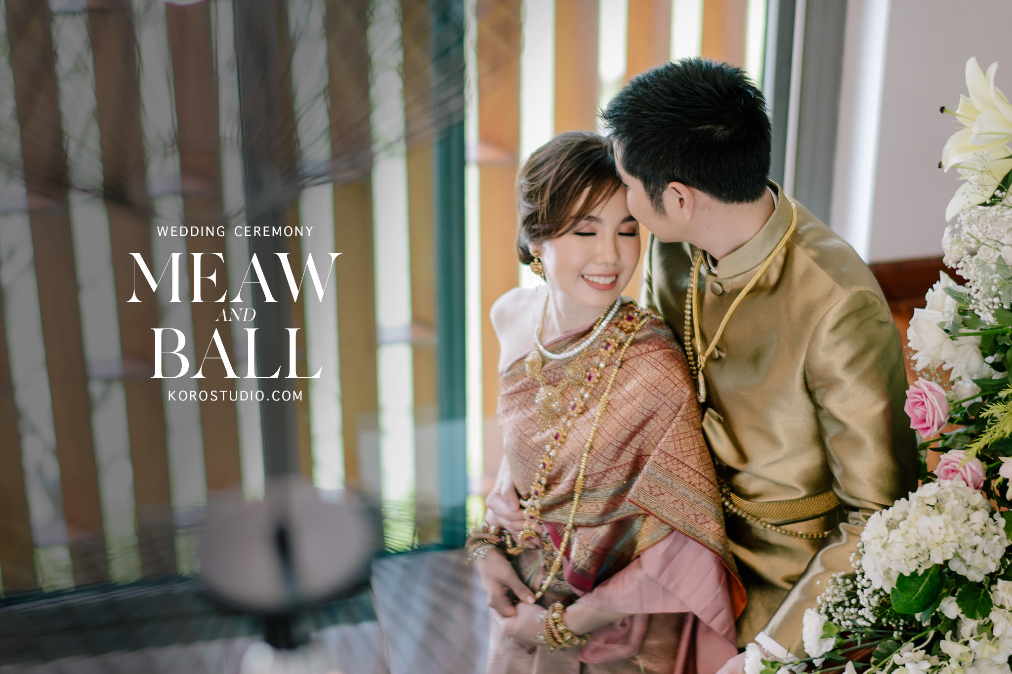 thai wedding at home wedding ceremony cover Wedding at Home Meaw & Ball Thai Wedding Ceremony Photo by Koro Studio