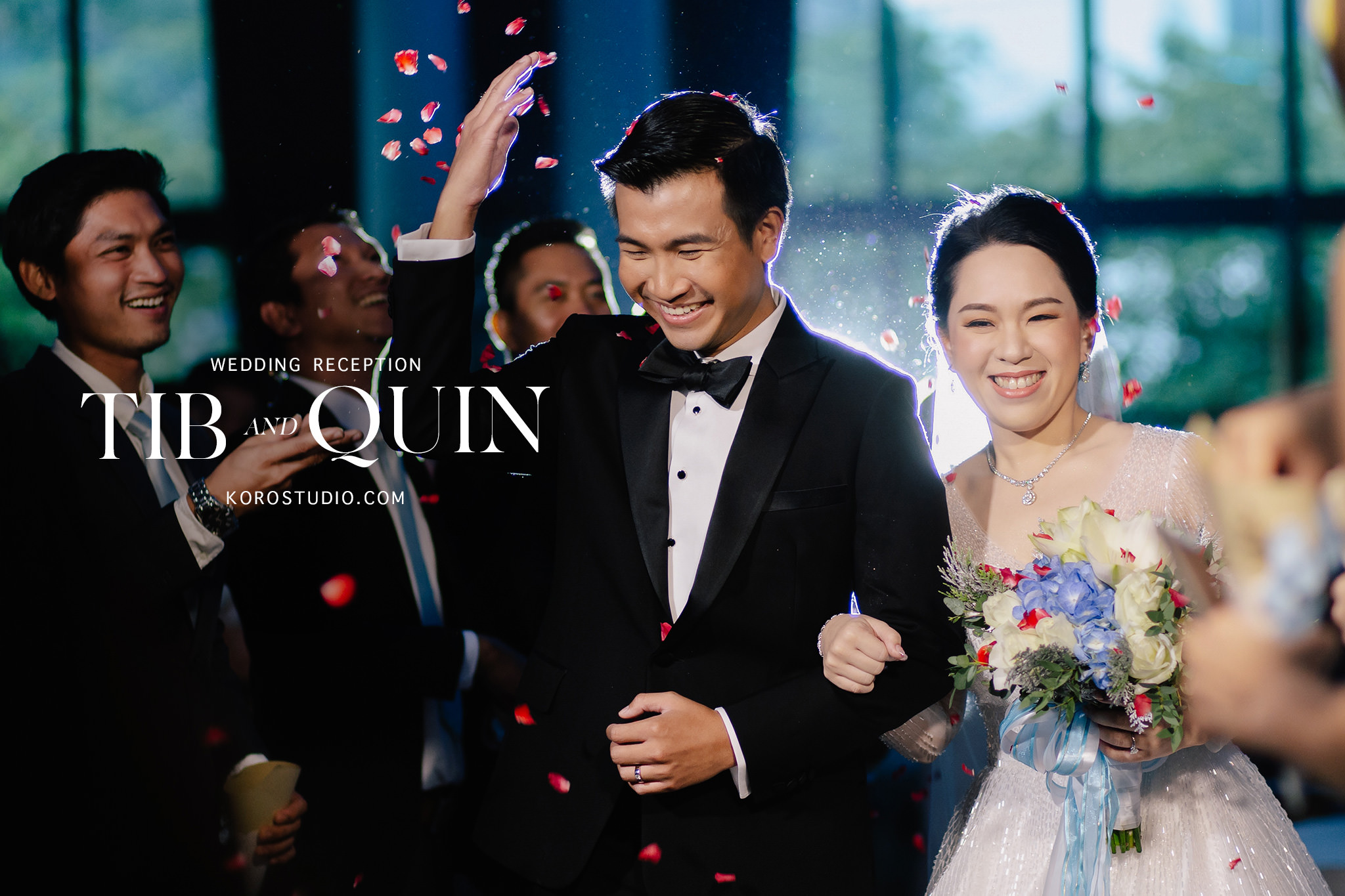 the athenee hotel wedding reception cover The Athenee Hotel Bangkok Wedding Reception Tib and Quin