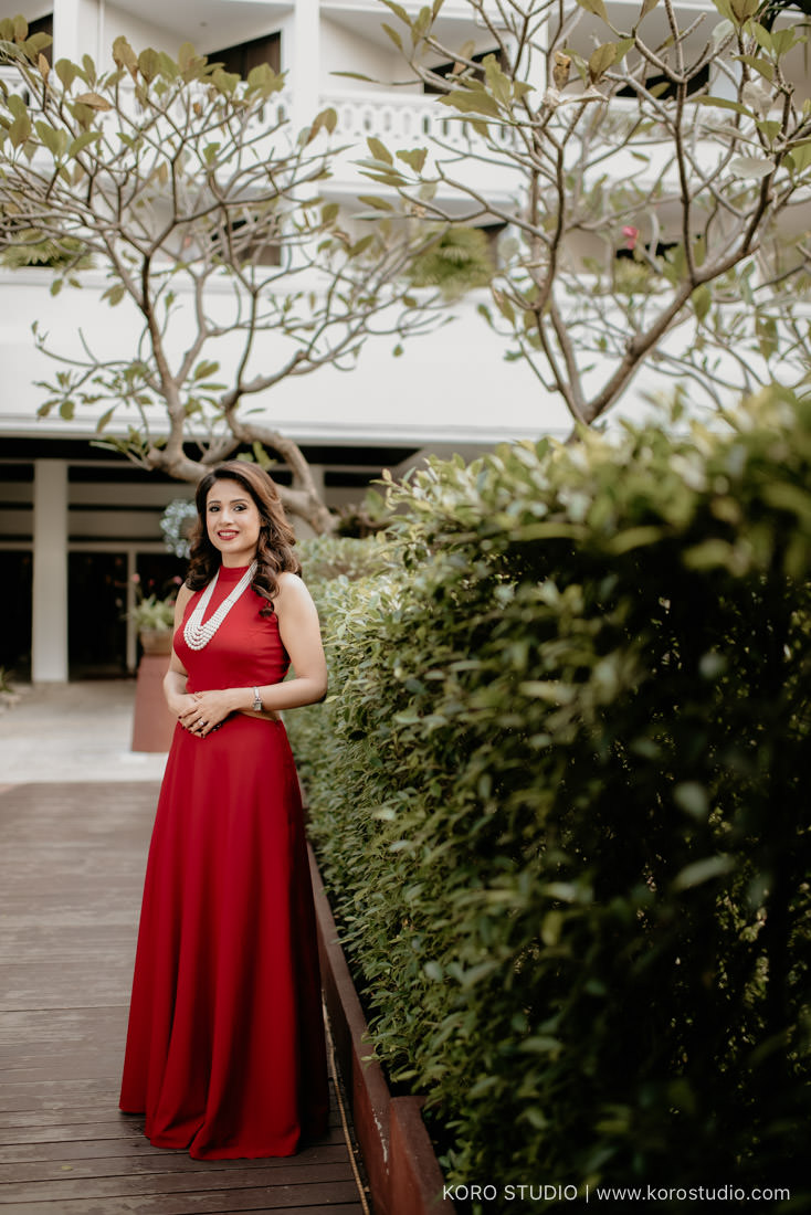 India Pre Wedding Shoot Sonam and Ramond at Anantara Riverside Bangkok Resort