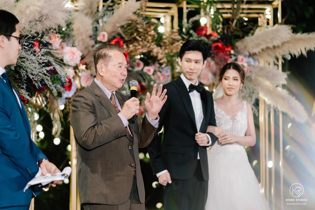 Agape Garden Bangkok Wedding Reception Kook and Nart งานแต่งงาน เลี้ยงฉลองงานแต่งงาน คุณกุ๊ก และคุณนาถ อากาเป้ การ์เด้น